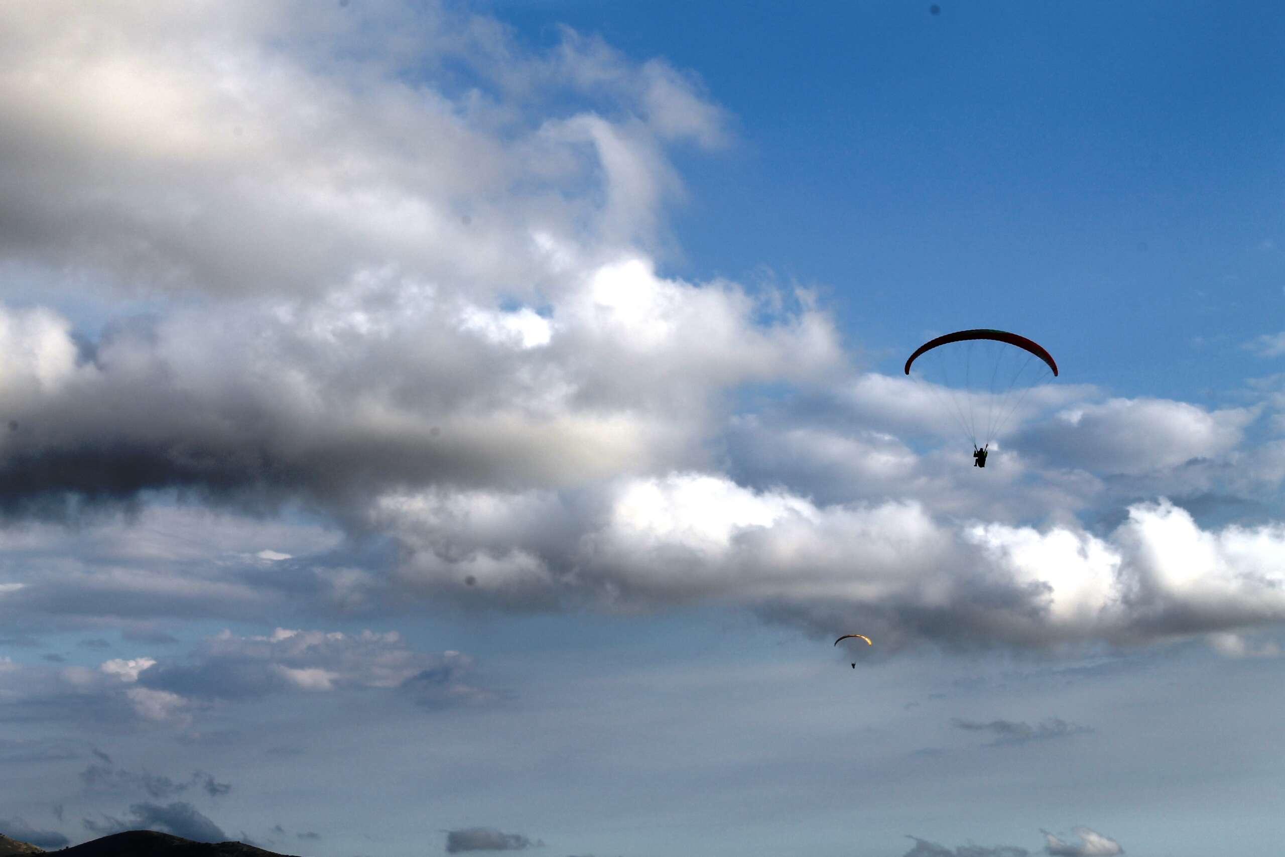 volo in parapendio nel Lazio
